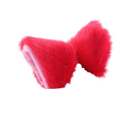 springcos Women Cat Ears Hairpin Cosplay Accessories Red