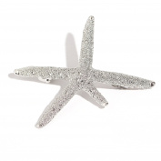 Face Forever Large Starfish Hair Clips 2 Colours Gold and Silver
