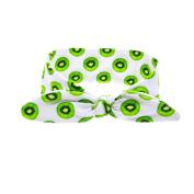 CuteOn Baby Fruit Headband Ribbon Turban Wrap Girls Hair Band Kiwi fruit
