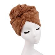 Vimeet Microfiber Hair Towel Ultra Absorbent Twist Large Hair Turban Drying Cap Hair Wrap Hair Drying Towels