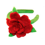 Western Outpost - ROSE HEADBAND RED - GLOBAL GROOVE