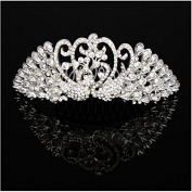 Fashion cat The new han edition hair bride headdress wedding dress alloy diamond peacock crown
