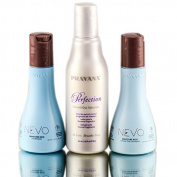 PRAVANA PERFECTION SMOOTH OUT 90ml Solution Trio Kit With 60ml NEVO Shampoo & Conditioner