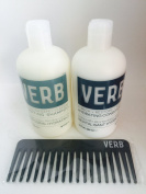 VERB colour SAFE HYDRATING SHAMPOO & RESTORE CONDITIONER & COMB SET
