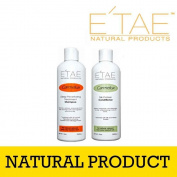Etae Shampoo and E'tae Conditioner Carmelux Combo Kit
