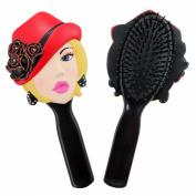 Jacki Design Charming Stylish Flexible Hair Brush Donna Style
