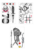 Louis Tomlinson Inspired Temporary Tattoos Bundle