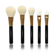 Cool7 Makeup Brushes Set, 5PC Cosmetic Makeup Brush Eyeshadow Brush
