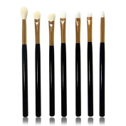Cool7 Makeup Brushes Set, 7PC Cosmetic Makeup Brush Lip Makeup Brush Eyeshadow Brush