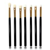 Cool7 Makeup Brushes Set, 7PC Cosmetic Makeup Brush Lip Makeup Brush Eyeshadow Brush