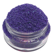 Calavera Cosmetics Glitter For Eyeshadow / Eye Shadow / Eyes / Face / Lips / Nails Makeup. NYX - PASTEL GOTH - Violet Lilac Matte w/ Green Iridescent Glitter/Calavera Cosmetics/Vegan/Loose Cosmetic Glitter/Nail Art Glitter/GLPASTELGOTHL5