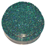 Calavera Cosmetics Glitter For Eyeshadow / Eye Shadow / Eyes / Face / Lips / Nails Makeup. NYX - ELVEN STAR - Teal Green Holographic Holo w/ Multi-Coloured Iridescent Glitter/Calavera Cosmetics/Vegan/Loose Cosmetic Glitter/GLELVENSTARL5