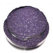 Calavera Cosmetics Glitter For Eyeshadow / Eye Shadow / Eyes / Face / Lips / Nails Makeup. NYX - GRAVEYARD - Dark Purple Grey w/ Silver Iridescent Glitter/Calavera Cosmetics/Vegan/Loose Cosmetic Glitter/Nail Art Glitter/GLGRAVEYARDL5