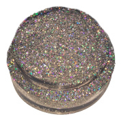 Calavera Cosmetics Glitter For Eyeshadow / Eye Shadow / Eyes / Face / Lips / Nails Makeup. NYX - CRYSTAL BALL Silver Holographic Holo Multi-Coloured Glitter/Calavera Cosmetics/Vegan/Loose Cosmetic Glitter/Nail Art Glitter/GLCRYSTALBALLL5