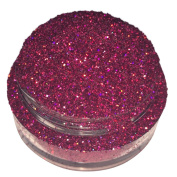 Calavera Cosmetics Glitter For Eyeshadow / Eye Shadow / Eyes / Face / Lips / Nails Makeup. NYX - WITCH PRINCESS - Fuchsia Purple Pink Holographic Copper Iridescent Glitter/Calavera Cosmetics/Vegan/Loose Cosmetic Glitter/GLWITCHPRINCESSL5