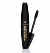 Gabrini Silicone Brush Mascara, Double Volume, Waterproof, Black, 10ml - 0.34 Fluid Ounce