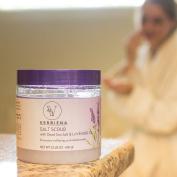 Dead Sea Salt & Lavender Essential Oil Body Scrub With Dead Sea Salt Minerals