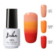 Belen Thermal Temperature Colour Changing Gel Nail Polish Soak Off UV LED Nail Lacquer 4219