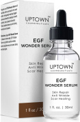 Uptown Cosmeceuticals Anti Wrinkle & Acne Scar Removal EGF Wonder Serum, Helps Reduce the Appearance of Scars, Wrinkles, Burns, and Dark Spots Visibly, 30ml