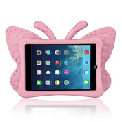 iPad Mini Case, iPad mini 1/2/3 Case ,FUA® 3D Cute Butterfly Heavy Duty Shock EVA Foam Stand Cover For iPad Mini 1/2/3 Kids' Gift