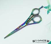Macs Professional Titanium Razors Edge Hair Cutting Shears 17cm Mac Brand -T017