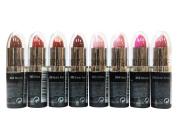 (8 Colours) NYC Ultra Moist Lip Wear Lipstick - Mocha, Ruby, Retro Red, Sheer Red, Chiffon, Petal, Blossom, & Violet Shine