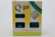 QRS- Nail Lacquer and Q-Gel Duo- Carribean Turquoise- S565 +G565 -. 150ml each