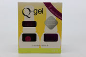 QRS- Nail Lacquer and Q-Gel Duo- Snapdrag- S423 +G423 -. 150ml each-