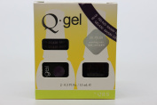 QRS- Nail Lacquer and Q-Gel Duo- Raisin - S420 +G420 -. 150ml each
