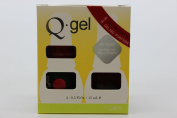 QRS- Nail Lacquer and Q-Gel Duo- Portside- S380 +G380 -. 150ml each-