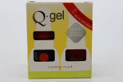 QRS- Nail Lacquer and Q-Gel Duo- Hot Tamale - S370 +G370 -. 150ml each-