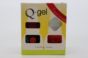 QRS- Nail Lacquer and Q-Gel Duo- Water Red - S367 +G367 -. 150ml each-