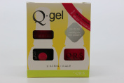QRS- Nail Lacquer and Q-Gel Duo- Passion Glaze - S337 +G337 -. 150ml each-