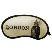 Ayygiftideas British Style Breathable Eye Shade Patch Sleeping Eye Mask Cover