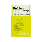 Oxe Cure Sulphur Soap For Acne Prone & Oily Skin 100 g.