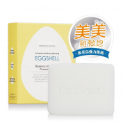 DR.DOUXI Essence of Eggshell Cream Moisturising Face Wash Bar Soap 100g