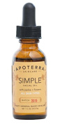 Apoterra - Simple Organic Facial Oil with Jojoba + Flowers