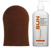 Sun Laboratories Sunless Self Tanning Lotion with Application Mitt (Medium)...
