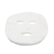 GBSTORE 100 Pcs DIY White Colour Natural Spa Skin Care Skin Fibre Paper Pre-cut Facial Paper Sheet Facial Mask