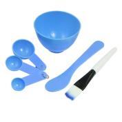 Hi-furniture DIY Skin Care Mask Mixing Bowl Stick Brush Gauge Spoon Set