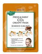 CELKIN Press & Shiny CO2 Creamy Facial Mask Choco Cacao Treatment
