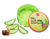 Cathy Doll 99% Aloe Vera & Snail Serum Soothing Gel 300 g.