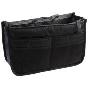 Ewandastore New Nylon Travel Handbag Pouch Bag Insert Organiser Cosmetic Pocket Makeup Bag Tidy Bag,9 Colours in Available