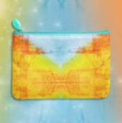 April 2016 IPSY Tie Dye Colourful Cosmetics Makeup Bag