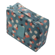 Cosmetic Bag Storage Organiser Dot Pattern Travel Toiletry Bag Organiser