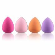 Bigban 4pcs Pro Beauty Flawless Makeup Blender Foundation Puff Multi Shape Sponges New