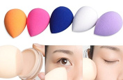 Biutee 5PCS/set Women makeup Sponge Cosmetic Puff Foundation beauty tools Smooth sponge to make up Powder Puff make up blender