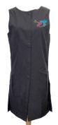 Long Snap Stylist Vest with Zipper Pockets by Charlene®