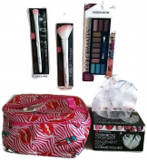 GyPsy BaRn ChiX Presents - Cosmetic Case, Eye Shadow, Cosmetic Organiser, Eyeshadow Brush, Contour Brush Bundle