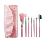 Professional Makeup Brushes ,Aoohe 8pcs Synthetic Hair Mini Eyeshadow BlushCosmetic kit